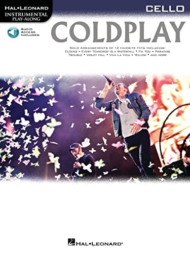 9781476818405: Coldplay: for Cello (Hal-leonard Instrumental Play-along)