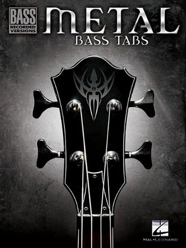 Metal Bass Tabs (Bass Recorded Versions): Hal Leonard Corp.
