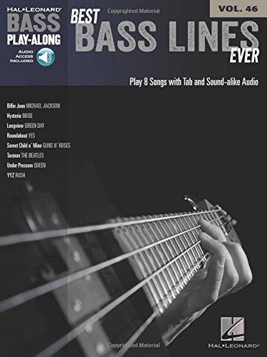 Best Bass Lines Ever: Bass Play-Along Volume 46: Hal Leonard Publishing Corporation
