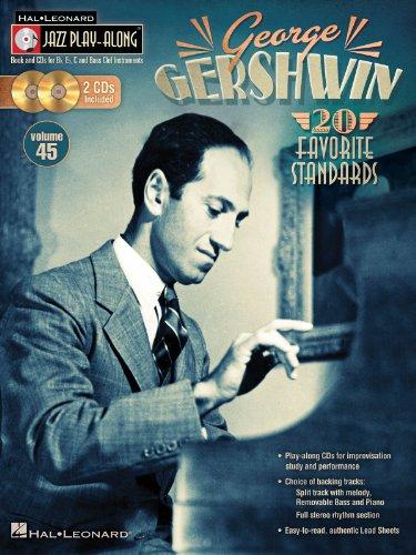 9781476821238: George Gershwin - Jazz Play-Along Volume 45 (Book/2-CD Pack)