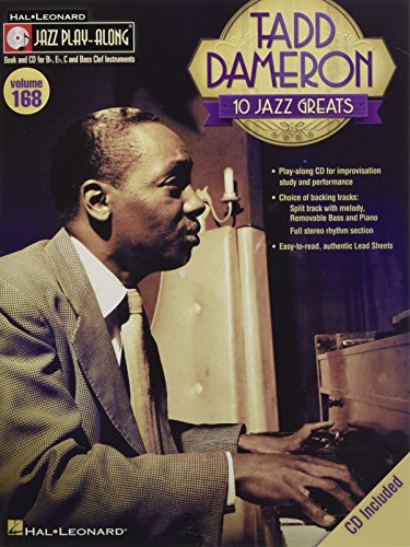 9781476821252: Tadd Dameron: Jazz Play-Along Volume 168 (Book/CD)