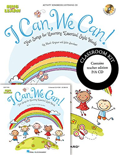 9781476867885: I Can, We Can!: Fun Songs for Learning Essential Sight Words
