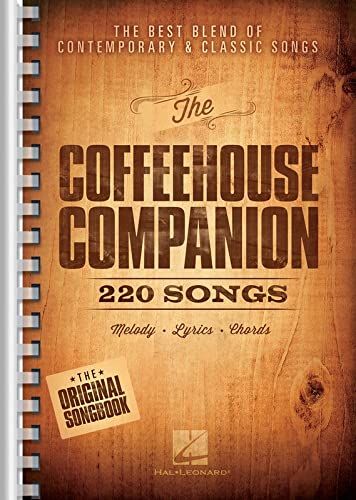 9781476871615: The Coffeehouse Companion: The Best Blend of Contemporary & Classic Songs 6x9 Edition