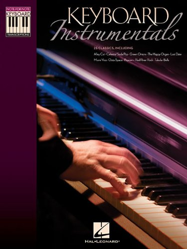 9781476871660: Keyboard instrumentals piano (Note-for-Note Keyboard Transcriptions)