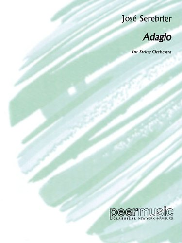 9781476874142: ADAGIO - FOR STRING ORCHESTRA - SCORE AND PARTS