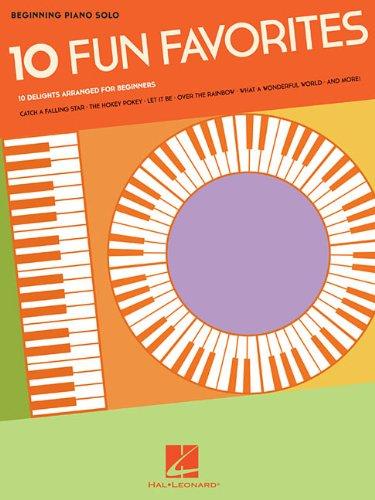 10 Fun Favorites - Beginning Piano Solo (Beginning Piano Solo Songbook): Hal Leonard Corporation