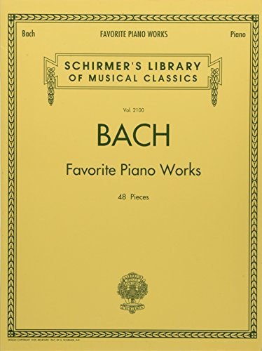 9781476875552: Bach Favorite Piano Works: Schirmer's Library of Musical Classics Volume 2100