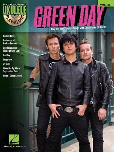 9781476875576: GREEN DAY - UKULELE PLAY-ALONG VOL. 25 (BOOK/CD) (Hal-Leonard Ukulele Play-Along)