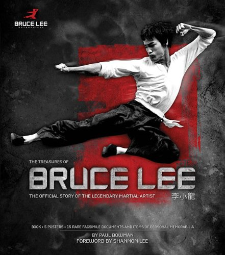 9781476886848: The Treasures of Bruce Lee: The Official Story of the Legendary Martial Artist