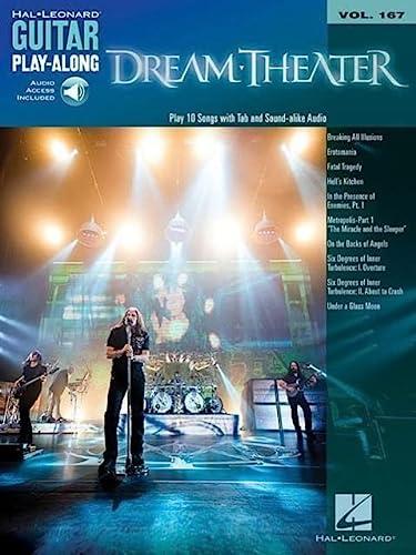 9781476889405: Dream Theater: Guitar Play-Along Volume 167 (Hal Leonard Guitar Play-Along)