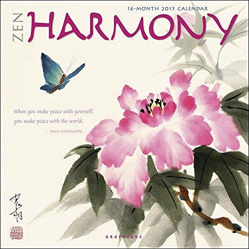 9781477001813: Zen Harmony 2015 Calendar