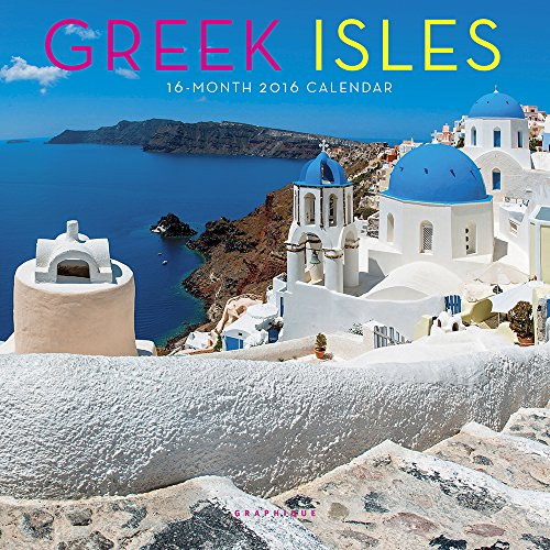 9781477011652: Greek Isles 2016 Calendar