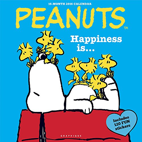 9781477011829: Peanuts Happiness Is 2016 Calendar