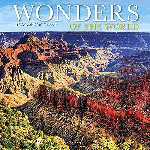 9781477013182: Wonders of the World 2016 Calendar