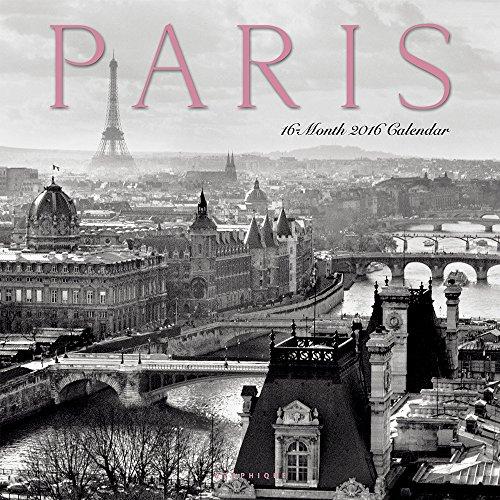 9781477013205: Paris 2016 Calendar