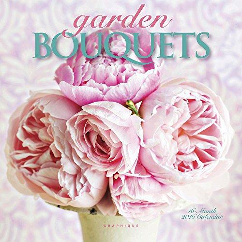9781477014493: Garden Bouquets Mini Wall Calendar