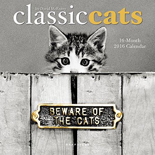 9781477014639: Classic Cats 2016 Calendar