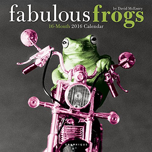 9781477014677: Fabulous Frogs 2016 Calendar