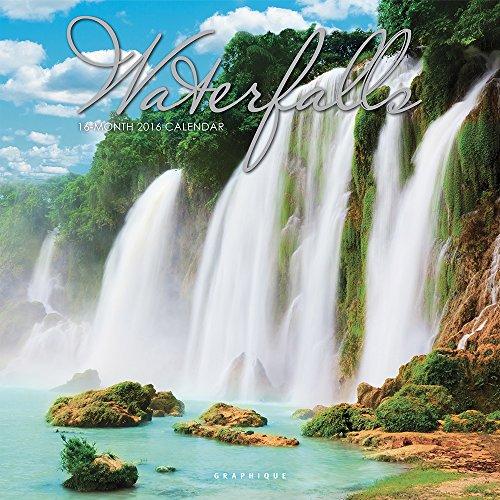 9781477015001: Waterfalls Wall Calendar