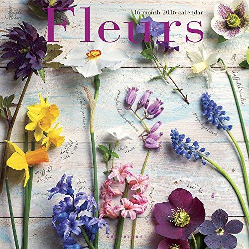9781477015056: Fleurs 2016 Calendar