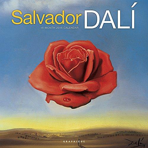9781477015933: Salvador Dali 2016 Calendar