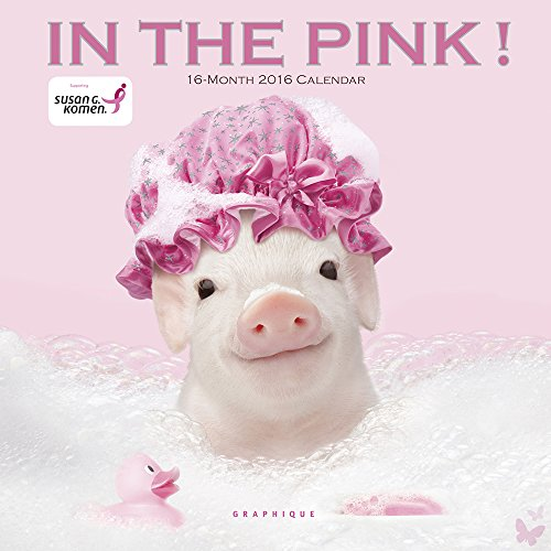9781477016046: In the Pink! Sgk 2016 Calendar