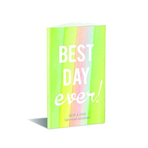 9781477024546: Best Day Ever! 2017-2018 Two-Year Calendar