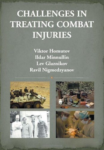 9781477111253: Challenges in Treating Combat Injuries (Russian Edition)