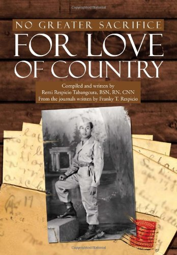No Greater Sacrifice for Love of Country: Franky T. Respicio