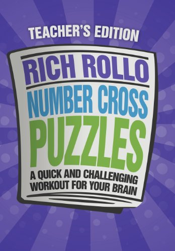 9781477155271: Number Cross Puzzles: A Quick and Challenging Workout for Your Brain