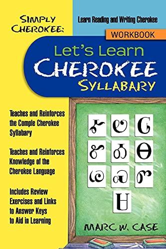 9781477241585: Simply Cherokee: Let's Learn Cherokee: Syllabary