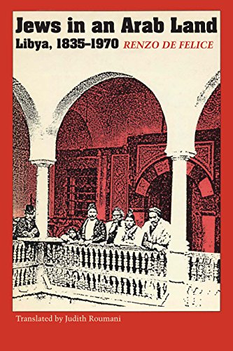 9781477304082: Jews in an Arab Land: Libya, 1835–1970