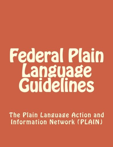 9781477415252: Federal Plain Language Guidelines