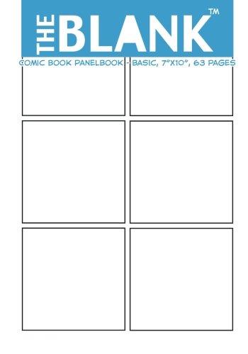 9781477424711: The Blank Comic Book Panelbook - Basic, 7