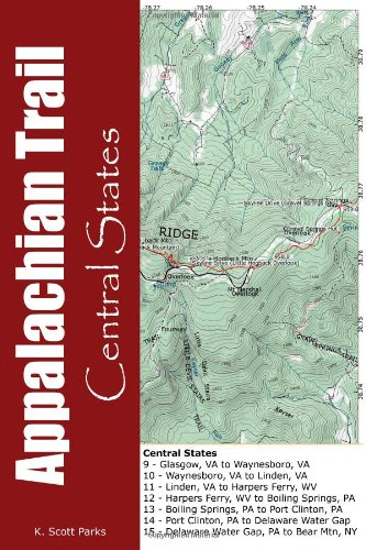 Appalachian Trail Pocket Maps-Central States: Parks, K. Scott