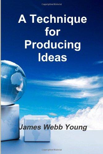 9781477428696: A Technique for Producing Ideas