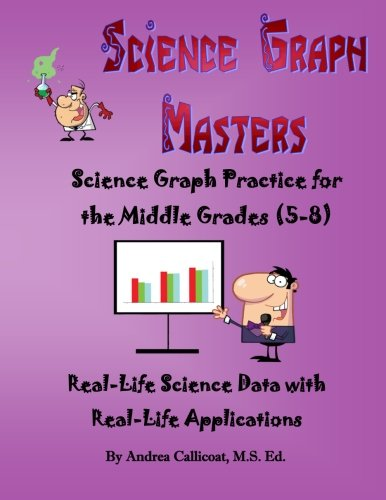 9781477465295: Science Graph Masters: Science Graph Practice for the Middle Grades (5-8) (Volume 1)