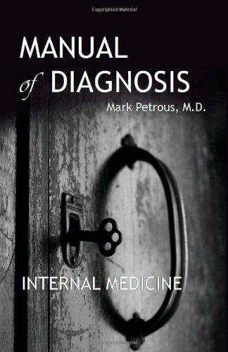 9781477482131: Manual of Diagnosis: Internal Medicine