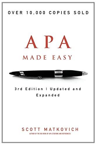 9781477493397: APA Made Easy