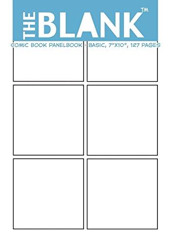 9781477504437: The Blank Comic Book Panelbook - Basic, 7