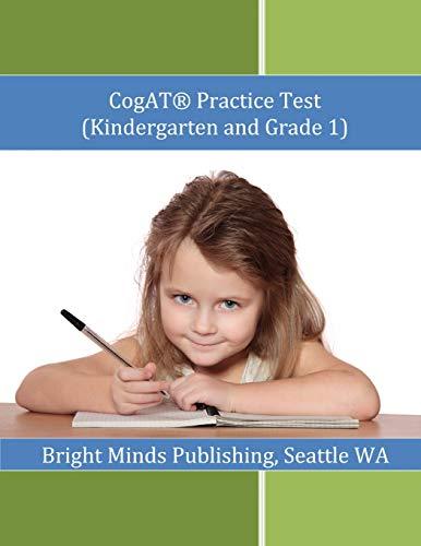 9781477506455: Cogat Practice Test (Kindergarten and Grade 1)