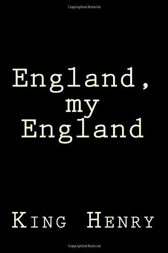 9781477513422: England, my England