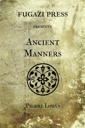 9781477526750: Ancient Manners