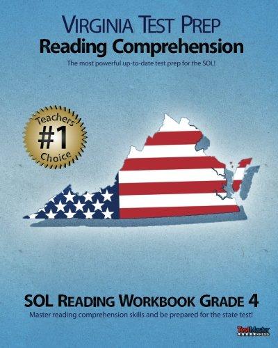 9781477537633: VIRGINIA TEST PREP Reading Comprehension SOL Reading Workbook Grade 4