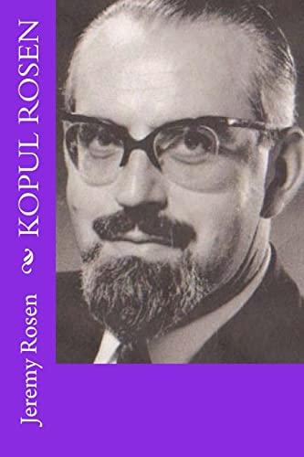 9781477569863: Kopul Rosen