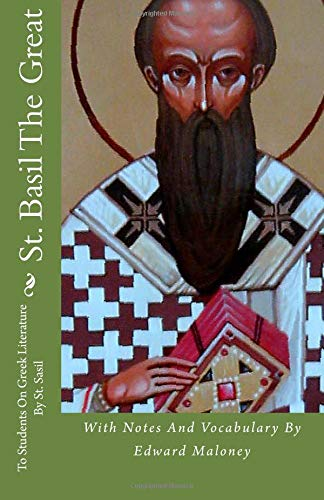 9781477576953: St. Basil The Great: To Students On Greek Literature