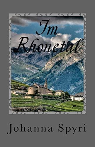 9781477596739: Im Rhonetal