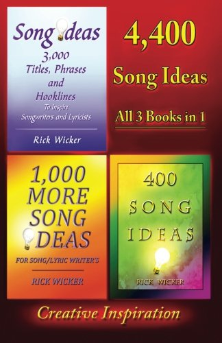 9781477598412: 4,400 Song Ideas: All 3 Books in 1