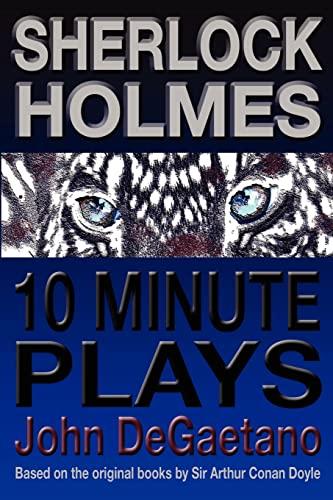 9781477616123: Sherlock Holmes 10 Minute Plays