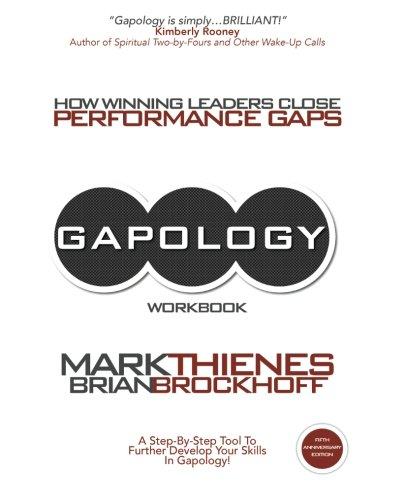 9781477640098: Gapology Workbook